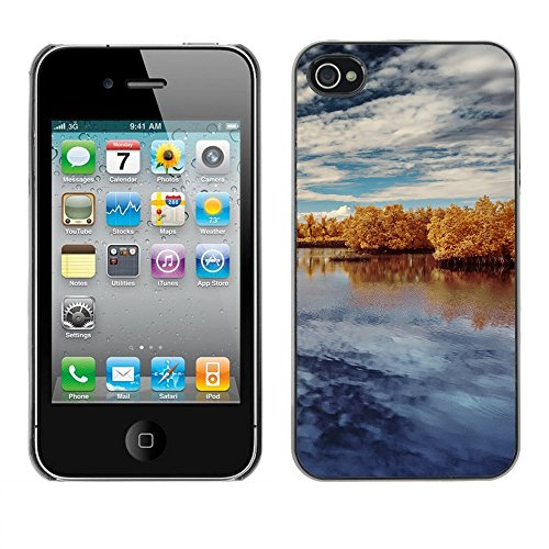 Hülle Case Schutzhülle Cover Premium Case // F00003988 Reisen // Apple iPhone 4 4S 4G