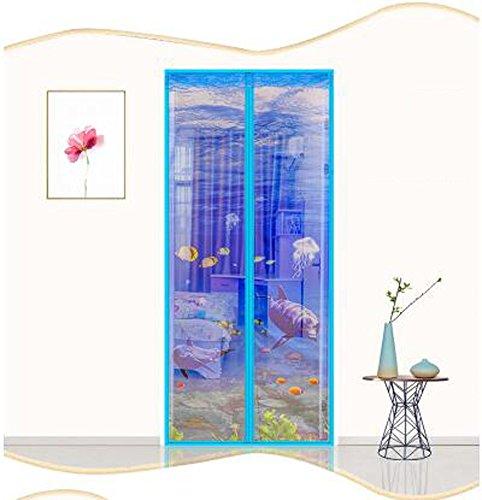 Amazon com: M&K Door Mosquito Net,Magnetic Screens Door,Instant