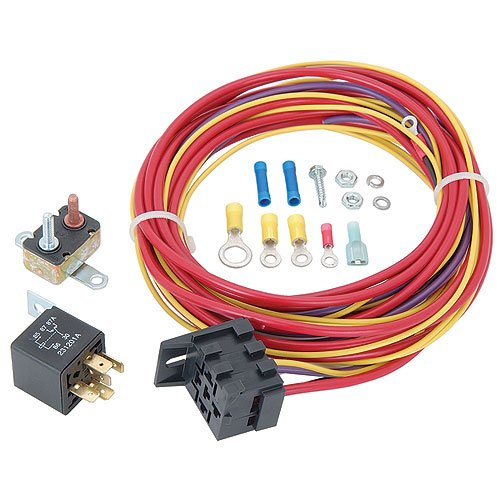 JEGS Performance Products 10564 Single Fuel Pump Harness and Relay Kit