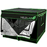 Cheap Yield Lab 32″ x 32″ x 24″ Grow Tent with Viewing Window – For Indoor, LED, T5, CFL, HPS, CMH – Hydroponic, Aeroponic, Horticulture Growing Equipment