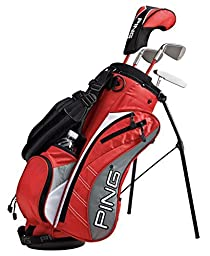 Ping Moxie K Complete Golf Sets, Right, 6-7 years by Sportsman Supply Inc.