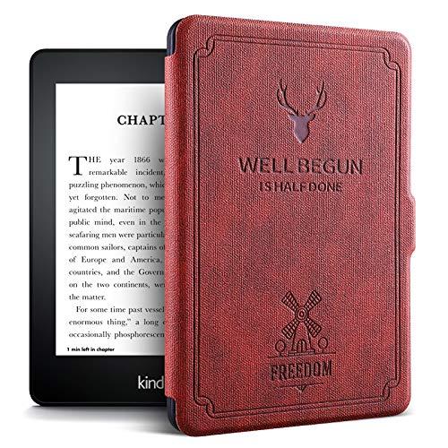 "ProElite Deer Smart Flip case Cover for Amazon Kindle 6"" 10th Generation 2019"
