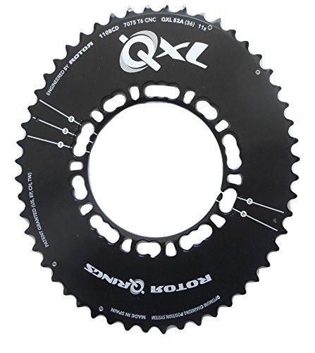 新しいコレクション Rotor(ローター) QXL アウターチェーンリング 52T 110 PCD QXL COMPACT ROAD [並行輸入品] COMPACT 52T B06WWGCYNF, 食べもんぢから。:1144c312 --- senas.4x4.lt