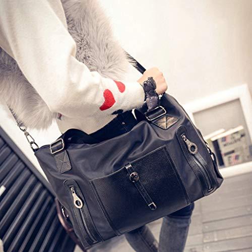 voyage pour code à à Sac sac B220 tout sac L de bandoulière de noir en fourre sport toile main sac sac sac dames sac AAwRqIU