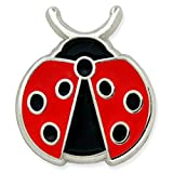 PinMart's Lady Bug Insect Animal Trendy Enamel Lapel Pin