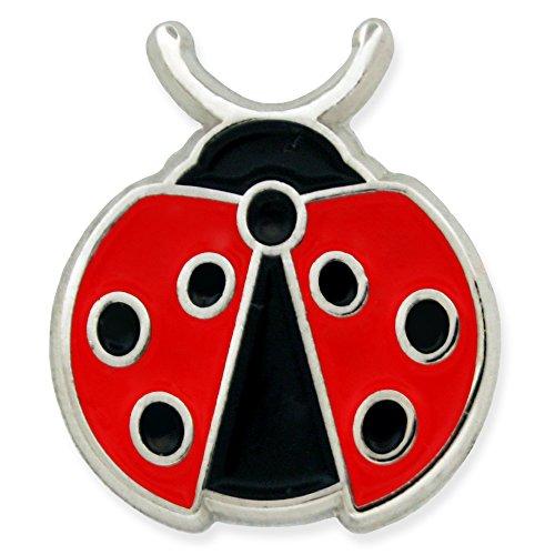 PinMart's Lady Bug Insect Animal Trendy Enamel Lapel Pin by PinMart