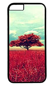 Beautiful Landscape Tree PC Black Case for Masterpiece Limited Design iphone 6 by Cases & Mousepads