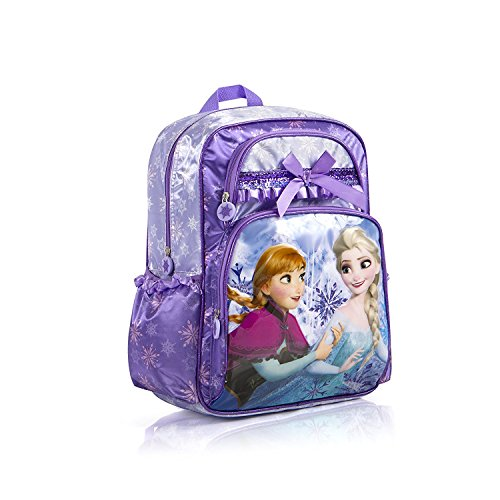 Disney Frozen Deluxe Backpack Purple