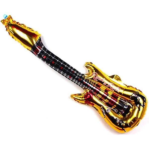 Aluminio Guitarra Película Hinchable Inflable Guitarra Partido ...