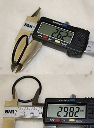 O-Ring-Dichtung 29,82x2,62 mm NBR schwarz