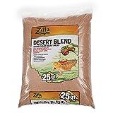 Zilla 11763 Ground English Walnut Shells Desert Blend, 25-Quart Bag