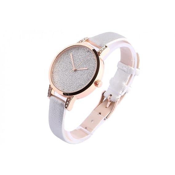 Reloj mujer pedrería Gris Dorado Fantasía Loly - Mujer: Amazon.es: Relojes