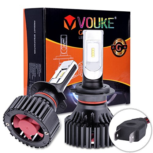 Tour Code Carbon (G+ H7 High Low beam headlamp Fog Driving Light 8000 LM With Extremely Bright Phi ZES AEC Chips All-in-One LED Headlight Conversion Kit Halogen Head light Replacement 6500K Xenon White,1 Yr Warranty)