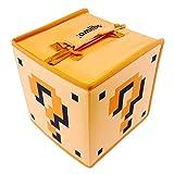 HORI amiibo 8 Figure Travel Case (Mystery Box) Officially Licensed by Nintendo - Retro Mystery Block Edition