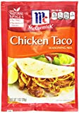 McCormick Chicken Taco Seasoning Mix, 1 oz (Case of 12)
