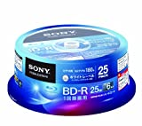 SONY Blu-ray Discs 25 Spindle - BD-R 25GB 6X for VIDEO - 2012