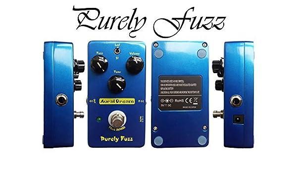 auraldream puramente Fuzzy Pedal de Efectos True Bypass eléctrica ...