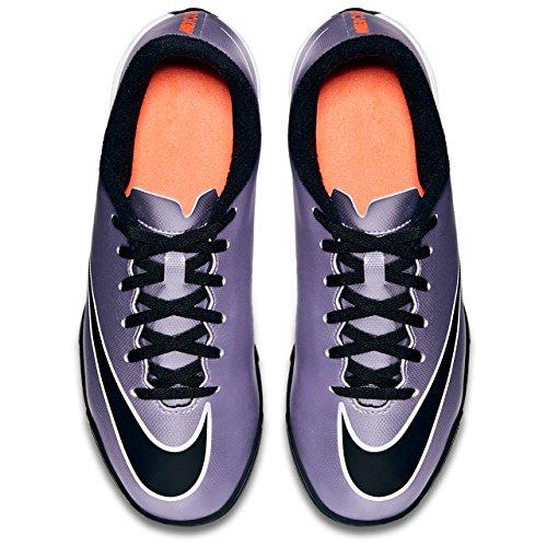 Nike Jr Mercurial Vortex Ii Tf, Zapatillas de Deporte para Niñas Morado / Negro / Amarillo / Blanco (Urbn Lilac / Blk-Brght Mng-White)