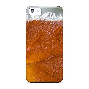 Iphone 5c Autumn Leaf Print High Quality Tpu Gel Frame Case Cover