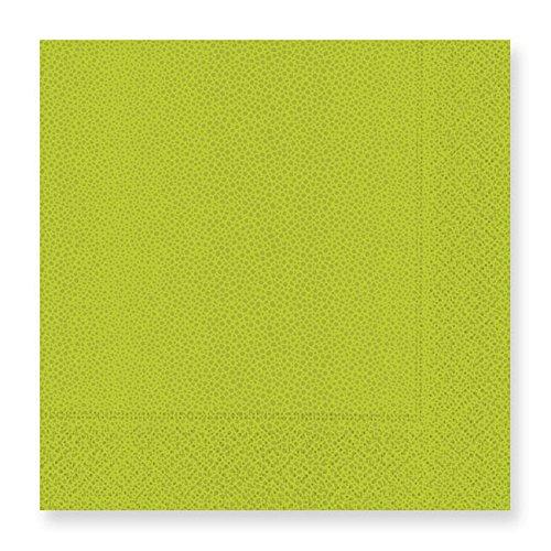 Pebble-Lime Green Luncheon Napkins