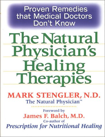 Read Online The natural Physician's Healing Therapies pdf epub