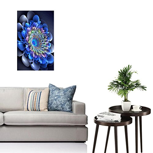Staron DIY 5D Diamond Painting Indian Embroidery Rhinestone Pasted Cross Stitch Home Decor (A)