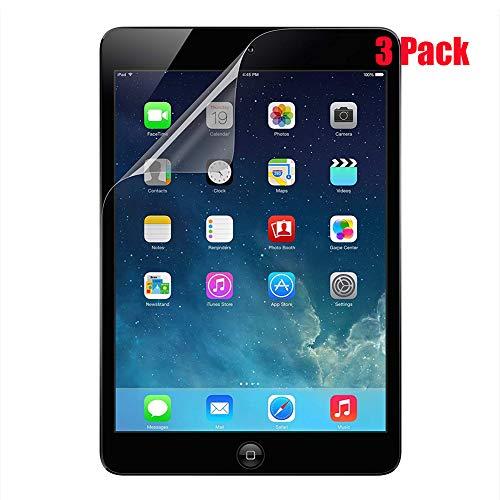 TopEsct TrueClear Transparent Screen Protector Film [3 Pack] For iPad Air,iPad Air 2,iPad Pro 9.7,iPad 5th Generation,iPad 6th Generation,Anti-Glare, Matte, Anti-Fingerprint, Anti-Scrat(iPad 9.7 inch)