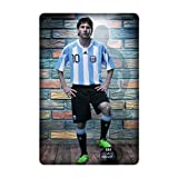lionel messi ?star football player argentina barcelona Mobile Phone Skin Case Cover For Ipad Mini 4 Design By [Renee Cook]
