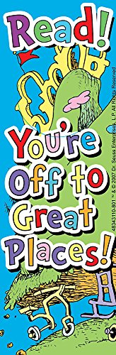 Just4fun Dr Seuss CAT in The HAT - 36 Bookmarks Read - You're Off to Great Places Classroom Teacher Reading Rewards - Party Favors - Doctor Dentist