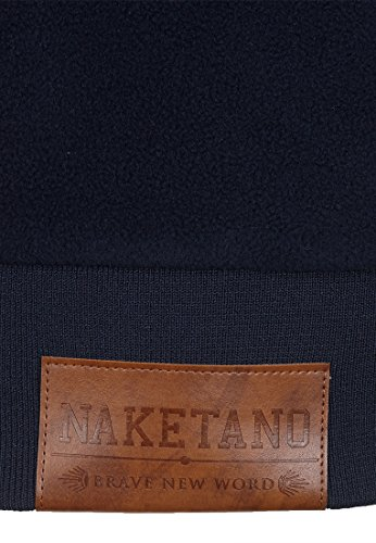 Sweat Femme Dark Naketano Uni Blue shirt BTFUd