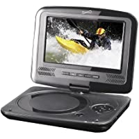 """Supersonic SC-259 9"""" TFT Portable DVD/CD/MP3 Player with TV Tuner, USB & SD Card Slot"""