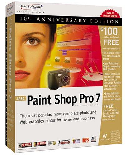 Paintshop pro x9 has a new version: download your trial free now.