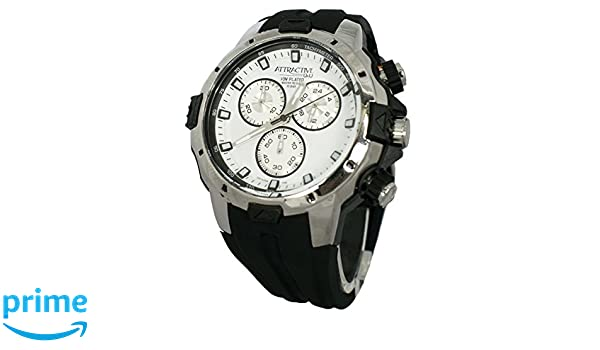 Amazon.com: DG14J004Y Q&Q Attractive Chronograph Mens Analog Silver Sport Quartz Q&Q: Watches