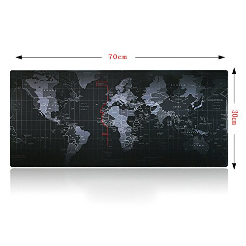 Large Size 700x300x3MM World Map Speed Game Mouse Pad Mat Laptop Gaming Mousepad