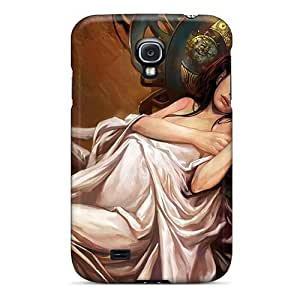 Hot Tpye Sad Queen Case Cover For Galaxy S4
