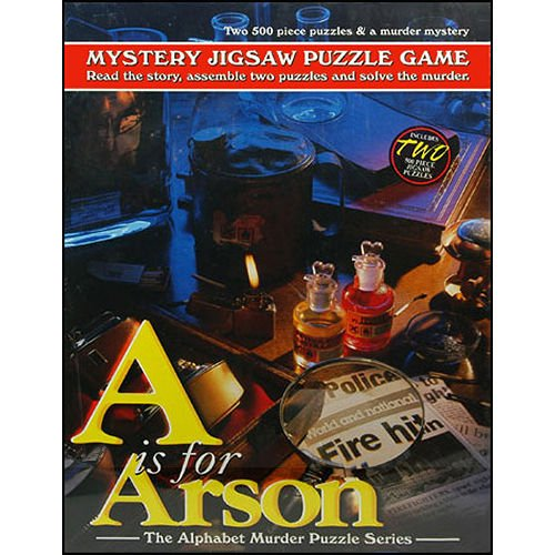 A for Arson Mystery 500 Piece Puzzle ()
