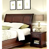 Home Styles Lafayette King/California King Sleigh Headboard and Night Stand
