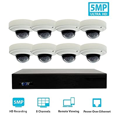 GW Security HD Megapixel 1920P 1080P Realtime Video ONVIF IP Camera System from GW