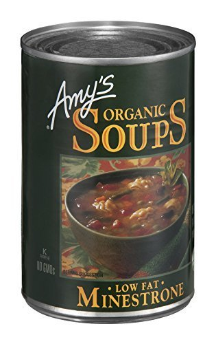 - Amy's Organic Minestrone Soup, 14.1-Ounce Cans (Pack of 24) by Amy's