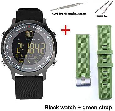 WCPZJS EX18 Sport Smart Watch Ultra Larga Espera Xwatch Natación ...