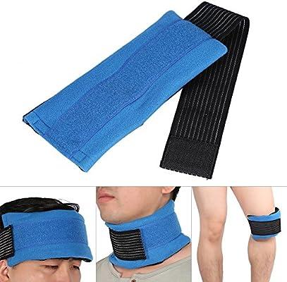 Moda caliente frío Gel Pack Wrap para cabeza rodilla cuello codo ...