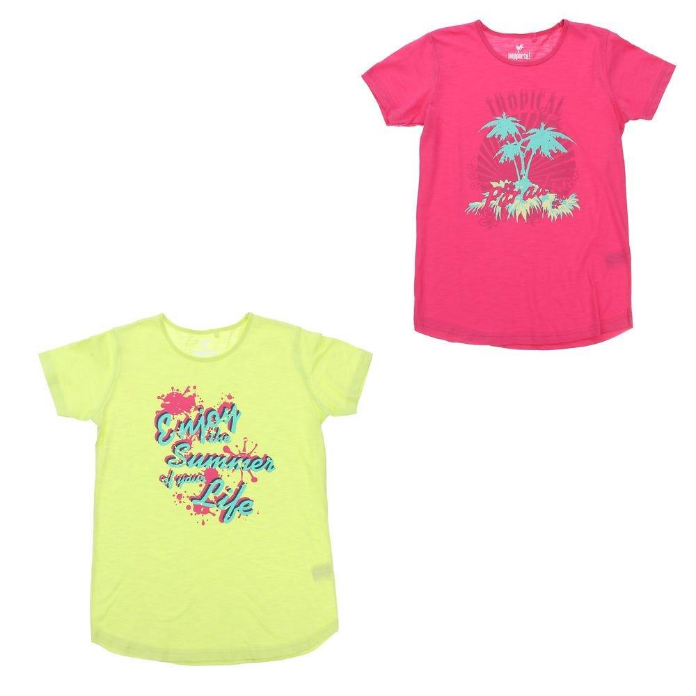 Mädchen T-Shirt 2er Pack Pepperts!