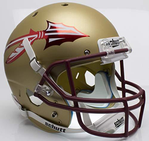 NCAA Florida State Seminoles Unisex NCAA Florida State Seminoles Replica XP Football Helmetncaa Florida State Seminoles Replica XP Football Helmet, Alt, One Size