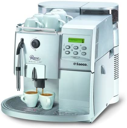 Saeco Royal Digital Plus Plata Espresso – Cafetera automática: Amazon.es: Hogar