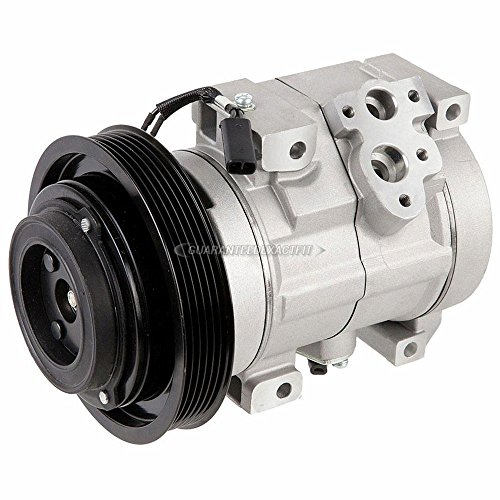 (AC Compressor & A/C Clutch For Toyota Celica 2000 2001 2002 2003 2004 2005 - BuyAutoParts 60-01787NA NEW)