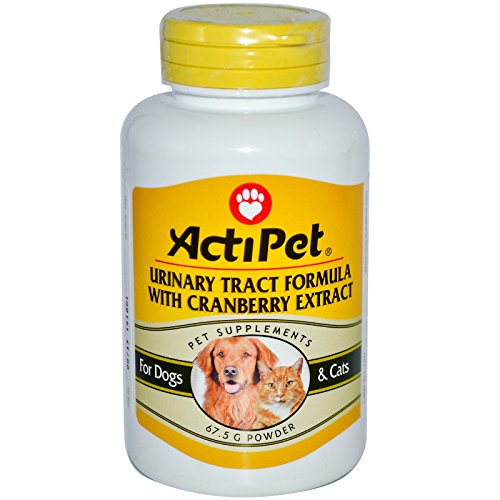 Actipet Urinary Tract Formula With Cranberry Extract, For...
