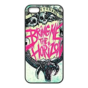 Bring Me The Horizon Pattern Design Solid Rubber Customized Cover Case for iPhone 4 4s 4s-linda318