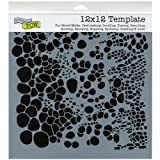 CRAFTERS WORKSHOP TCW-357 Template, 12 by 12-Inch, Cell Theory