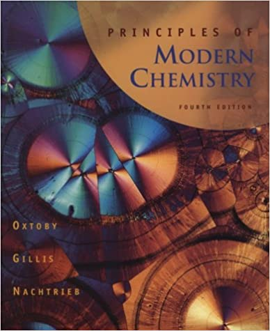 Principles of modern chemistry david w oxtoby h pat gillis principles of modern chemistry 4th edition fandeluxe Choice Image