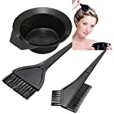 Pride 4pcs. Hair Dye Set Kit Black Salon Hair Coloring Dyeing Kit Brush Comb Bowl Hair Tint Mixing Bowl DIY Hair Set